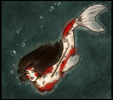 Koi Girl by HaleysComett