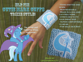 Cutie Mark Cuffs: Trixie Style by InkRose98