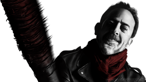 TWD Negan +timelapse video by Roksi10