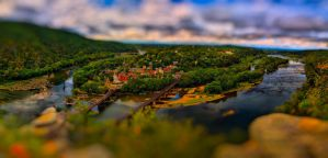 Harpers Ferry Tilt Shift 2 by CharlesWb