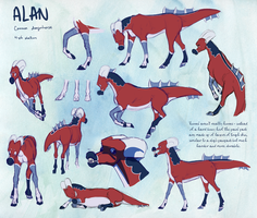 Alan + Dragonhorse Species by paulmccartneys