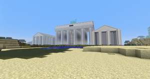 Minecraft - The Brandenburg Gate by MinecraftArchitect90