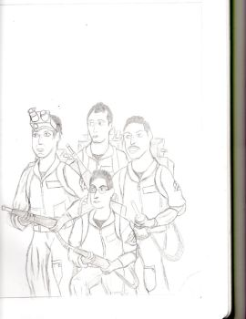 Ghostbusters Sketch by Nerdroditie