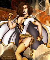 Tom Burgos' Mary Marvel by musicaldruid