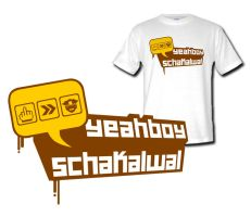 Yeahboy T Shirt design by schakalwal