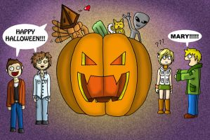 Silent Hill Happy Halloween by Tippy-The-Bunny