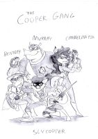 Team Flux Fantasy Team members: The Cooper Gang by BreakoutKid