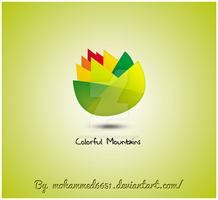 Colorful Mountains Logo by mohammed6651