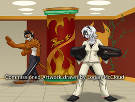 Practice at the Dojo :Comm: by Hyperchaotix