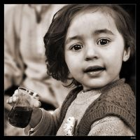 Young Turkish girl by lukaszkruk