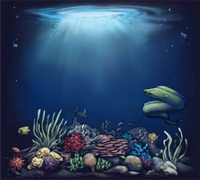 Coral Reef by Vogelspinne