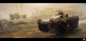 Buggy by adamkuczek
