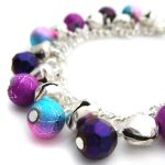 Purple+Silver Bell Braclet by fairy-cakes