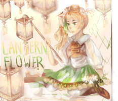 // lantern flowers + SPEEDPAINT by ATEL1ER