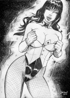 Sexy Zatanna by Dinei by lab-ideas