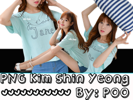PNG ~ Pack~ Kim Shin Yeong by Poo-Park