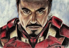 Tony Stark- Iron Man by Sandra-13