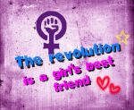 The revolution is a girl's best friend by Drynwhyl