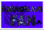 Soundwave fan-made stamp by Playstation-Jedi