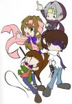 GB - untitled chibis by julewooster