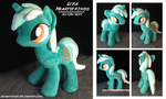 Pony Plush: Lyra Heartstrings  ::FOR SALE:: by SnowFright
