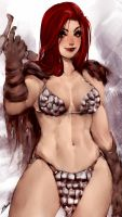 Red Sonja by OnishinX