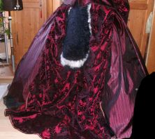 Twillights  Gothic Fursuit Dress with Tail by ASKABANIUM