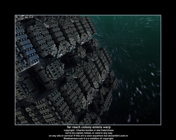 far reach colony enters warp by fraterchaos