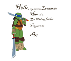 Hello, my name is Leonardo Hamato by FireLeviathan