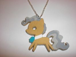 Mayor Mare Paper Pendant by Bunnygirl2190