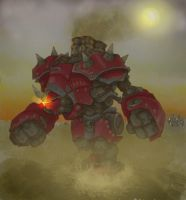 big stompy mech by anthrakkis