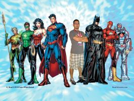 NEW JLA and NO by nathanobrien
