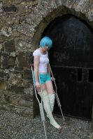 Rei struggles by Cairdiuil