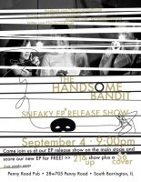 The Handsome Bandit EP Release by DjCreags