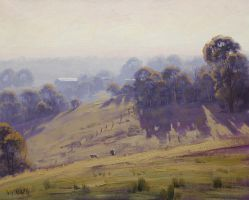 sheep farm - Graham Gercken by artsaus