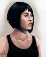 Mako Mori my Queen by MelodicMadness