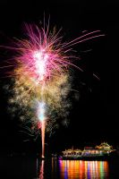 The Floating Temple Firework - 1 by SAMLIM