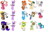Adoptables 18 +3  Extra by Pokemonmaster704