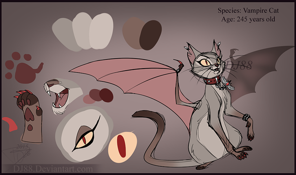 Vampire Cat Auction -SOLD!- by DJ88