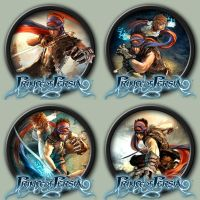 Prince Of Persia Icons by kodiak-caine