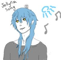 Let's Sing The Jellyfish Song, Aoba by Allena-Frost-Walker