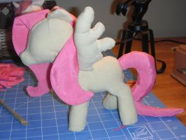 Fluttershy Plush WiP by TheRedBandit