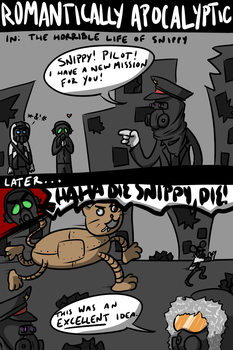 The Horrible Life of Snippy by pantsreminder