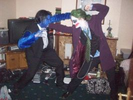 Beast vs Joker by sarahbevan11