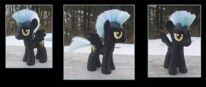 My Little Pony Thunderlane Custom by kaizerin