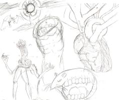 Doodle Medley of Doom by twitcher