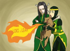 Loki and Leah by miova