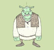 Shrek by Hartter