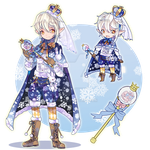 ADOPT AUCTION : snow flake prince // CLOSED by pkii