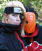 Deidara and Tobi 2 by Malindachan